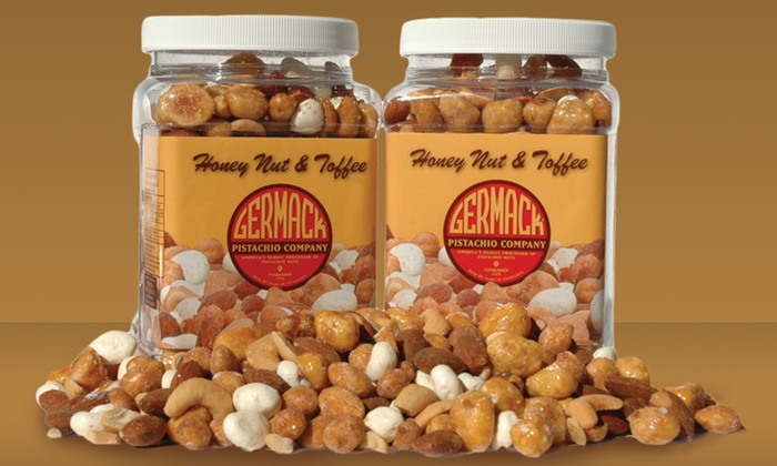 2-Pack of Germack Honey Nut and Toffee Snack Mix: 2-Pack of Germack Honey Nut and Toffee Snack Mix. Free Shipping.