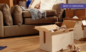 Hoffmann Moving: Two Movers for Two Hours Including Truck or Trailer Rental at Hoffmann Moving (Up to 67% Off)