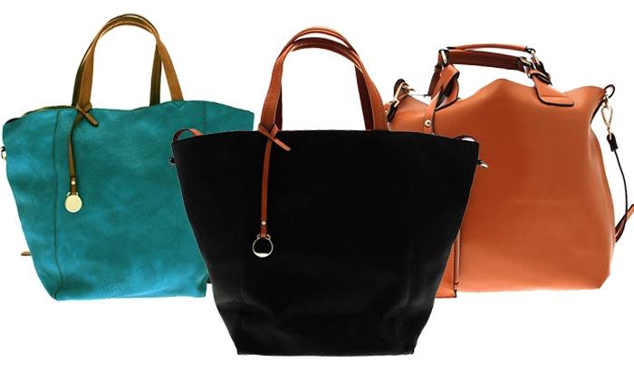 Louis ScherrerGroupon Cuir Jean Sac Shopping 6gvbfIY7ym