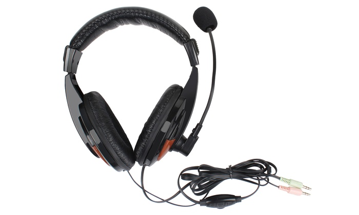 Kocaso Gaming Headset with Powerful Bass, Noise Reduction and Mic Plugs
