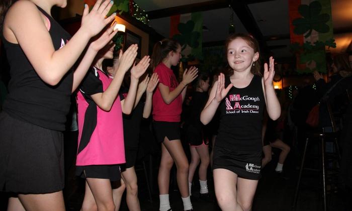 McGough Academy of Irish dance - Westchester County: Four Dance Classes from The McGough Academy of Irish Dance (71% Off)