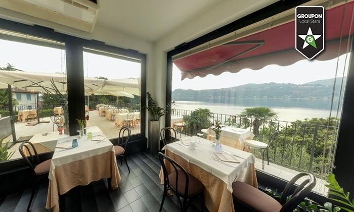 Ristorante Il Lido - Angera: Menu di 2, 3 o 4 portate con vista sul Lago Maggiore (sconto fino a 62%)