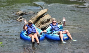 Saluda River Rafting Adventures: Inner-Tube or Paddleboat Rental for Two at Saluda River Rafting Adventures (56% Off)