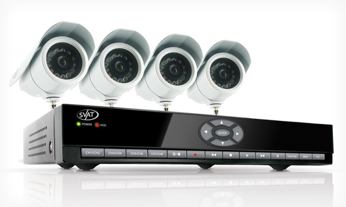 SVAT Web-Ready 8-Channel 500GB HDD DVR Security System: $189.99 for SVAT Web-Ready 8-Channel 500GB HDD DVR Security System ($899.99 List Price). Free Shipping and Returns.