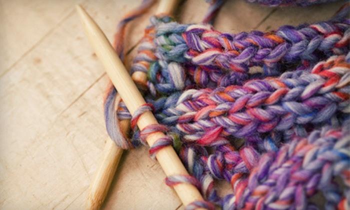 Sugar Land Yarn Company - Sugar Land: One or Two 90-Minute Beginners' Knitting Classes at Sugar Land Yarn Company (Half Off)