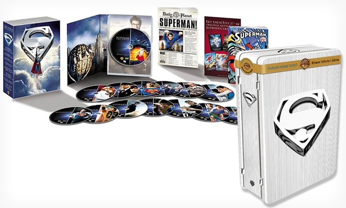 Superman Ultimate 14 DVD Collector's Edition: $19.99 for a 14-Disc Superman Ultimate DVD Collector's Edition ($99.98 List Price). Free Shipping and Returns.