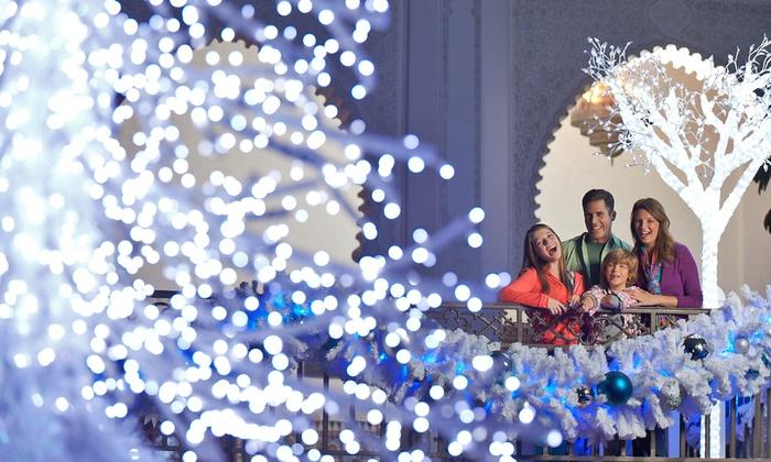 Busch Gardens Tampa - Christmas Town - Busch Gardens Tampa: Christmas Town Visit for an Adult or Child at Busch Gardens Tampa (Up to44%Off)