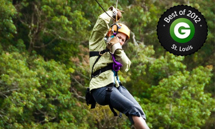 Wyman Center - Eureka: $25 for Three Hours of Challenge Course Activities at Wyman Center in Eureka ($70 Value)