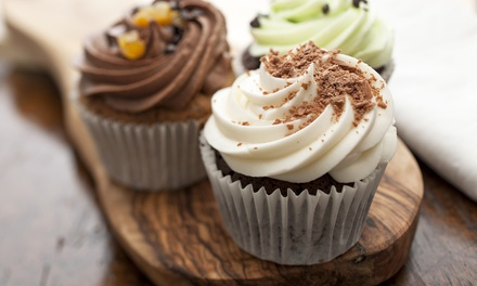 Up to 40% Off Gourmet Goods from Pure Southern Girl Cupcakes. Three Options Available.