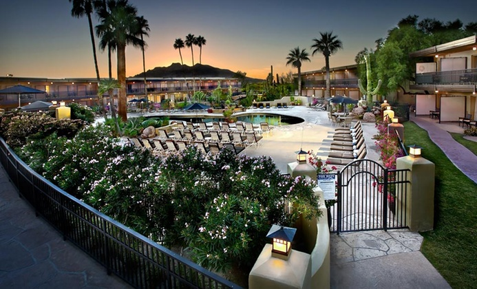 Arizona Spa Resort in Sonoran Desert