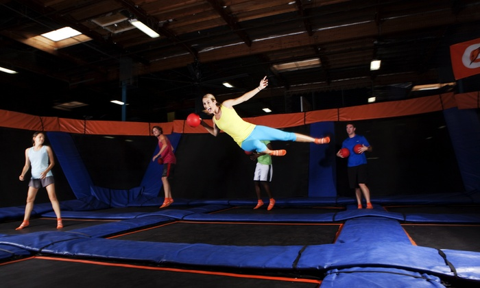 Sky Zone - Danvers, MA - Danvers: Two 60-Minute Open Jumps or Admission to Saturday Night SkyJam at Sky Zone Danvers (Up to 41% Off)