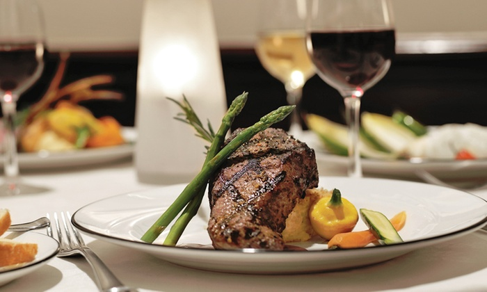 Jack's Place - Rosen Plaza Hotel: $49 for a Three-Course Steak-or-Seafood Dinner for Two with Valet Parking at Jack's Place ($105.90 Value)