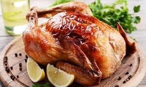 STEAK HOUSE: Menu a base di carne con pollo scocchiato e vino per 2 o 4 persone da Steak House (sconto fino a 72%)