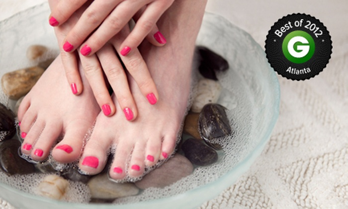 The Spa at Windward - Big Creek: One or Three Spa Manicures with Signature Pedicures at The Spa at Windward (Up to 60% Off)