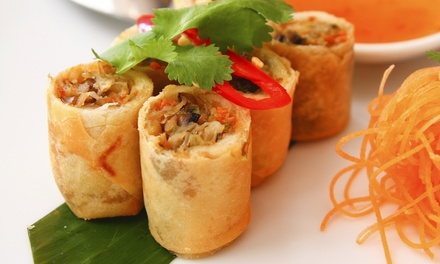 Vietnamese Food at Saigon Saigon (Up to 37% Off). Two Options Available.