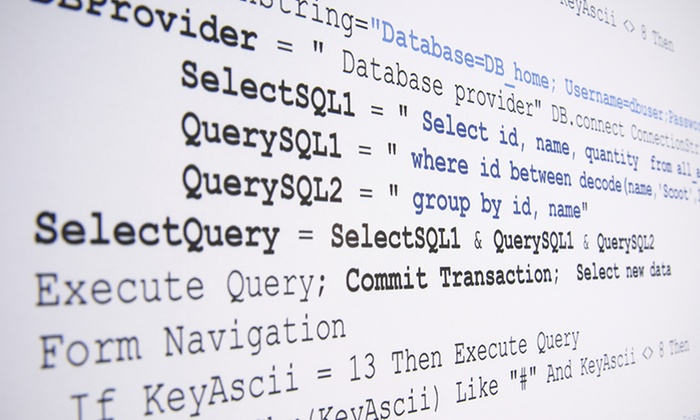 sql certification training | groupon goods