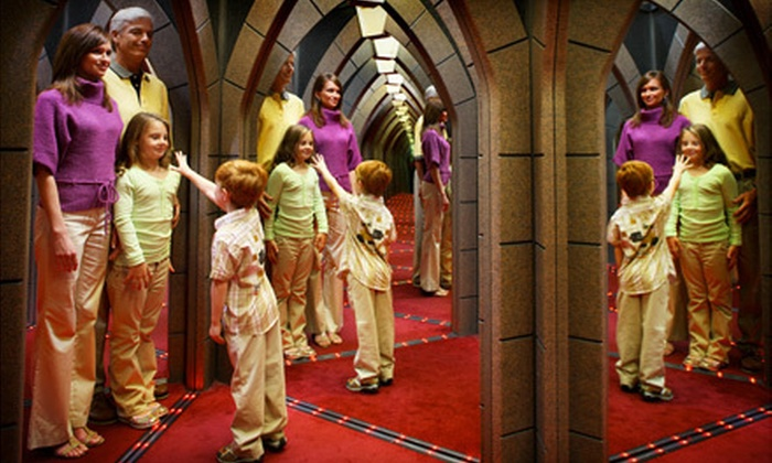 Ripley's - Gatlinburg: Mirror Maze and 3D Moving Theater Visit for One Adult or Child at Ripley's (Up to 56% Off)