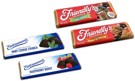 Friendly's & Entenmann's Chocolate Bars (6- or 10-Pack)