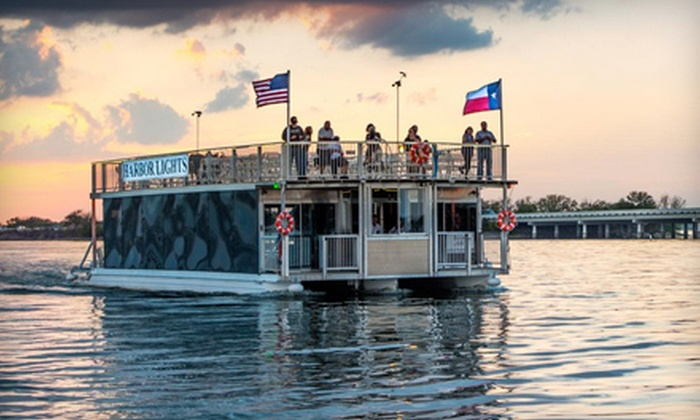 "Sail with Scott LLC - Rockwall: $15 for a Sunset Cruise Aboard the ""Harbor Lights"" for One from Sail with Scott LLC ($30 Value)"