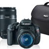 Canon EOS Rebel T3i Digital SLR Camera 2 Lens Photo Enthusiast Bundle