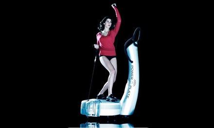 4x, 6x oder 8x Training mit der Power Plate für Frauen bei just vib fitness ab 12,90 € (73% sparen*)