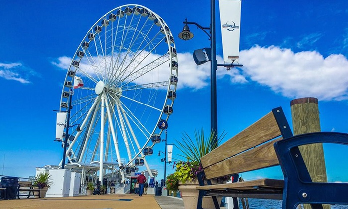 Capital Wheel - National Harbor: Two or Four General Admissions to the Capital Wheel, Valid Monday-Friday (Up to 33% Off)