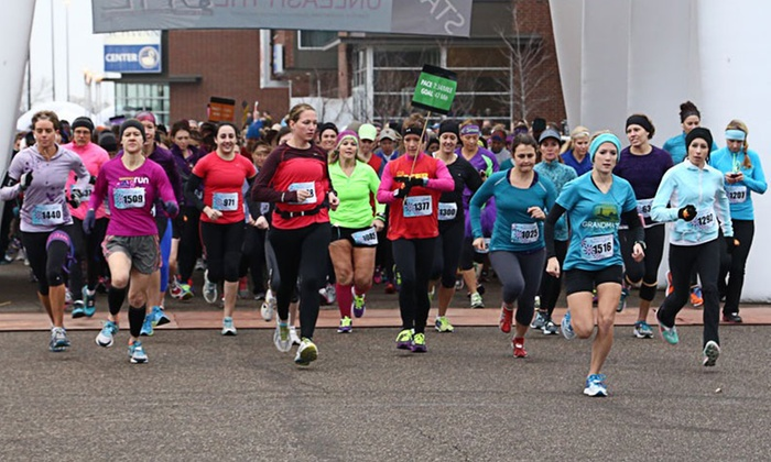 Unleash the She - National Sports Center: 5K or 10K Registration for One, Two, or Four for Unleash the She on Sunday, October 12 (Up to 50% Off)