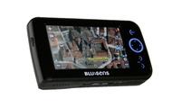 Navegador GPS Go1 con ruta sobre imágenes reales