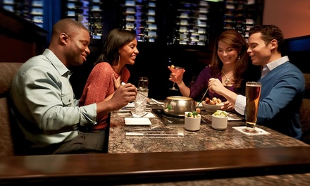Dinner for Two with Appetizer, Salad, and Entrees at The Melting Pot (Up to 43% Off). Two Options Available.