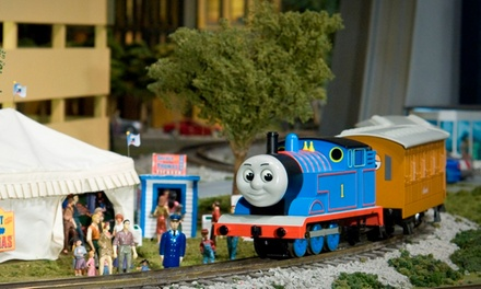 Model-Train Outing for Two or Four at EnterTRAINment Junction (Up to 40% Off)