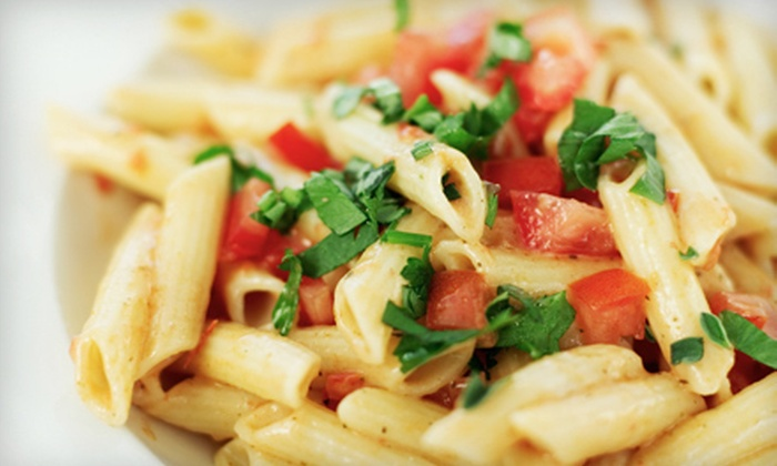 Enzo Pizza - Franklin: Pasta Entrees for Two or Four at Enzo Pizza (Up to 55% Off)