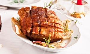 Ankes Restaurant: Mecklenburger Rippenbraten mit Vor- und Nachspeise für Zwei oder Vier in Ankes Restaurant (bis zu 51% sparen*)