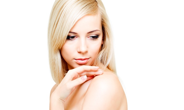 GA Aesthetic Med Spa - Alpharetta: Two or Four Non-Surgical Microcurrent Treatments for the Face or Body at GA Aesthetic Med Spa (Up to 85% Off)