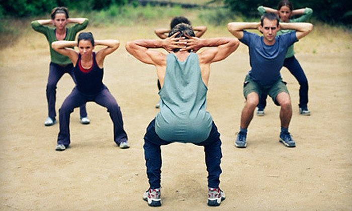 Mind Body Total Fitness - Multiple Locations: Four- or Six-Week Boot Camp at Mind Body Total Fitness (79% Off)