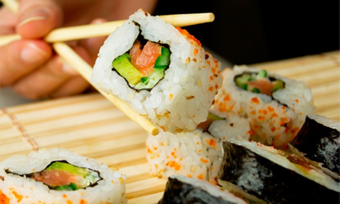Sushi @ the Lake - Cornelius: Sushi and Japanese Food at Sushi @ the Lake (Half Off). Two Options Available.
