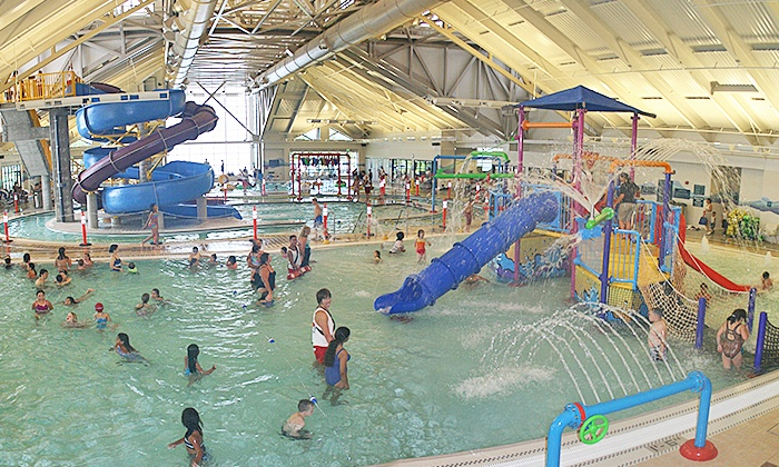 City of Newark Silliman Activity & Family Aquatic Center - City of Newark Silliman Activity & Family Aquatic Center: One-Day Pass for Two Adults and Two or Four Kids at Silliman Activity and Family Aquatic Center (50% Off)