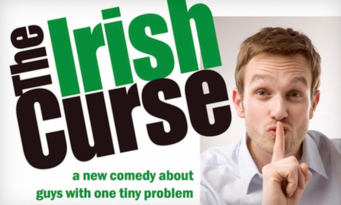 """""""The Irish Curse"""" presented by Triangle Productions - The Sanctuary: $17 for One Theater Ticket to See Triangle Productions' """"The Irish Curse"""" at The Sanctuary ($35 Value)"""