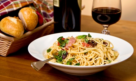 Italian Dinner for Two or Four at Tony's Italian Ristorante (50% Off)