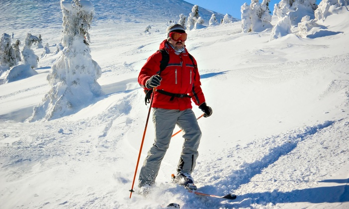 Mohan Skiing & Boarding - Snoqualmie Pass: $79 for Skiing or Boarding Lesson for Up to Four, Plus a Thermos (Up to $171.50 Value)