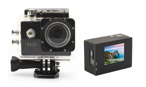 Actionpro Hd Sports Camera Bundle With Mount And Memory Card