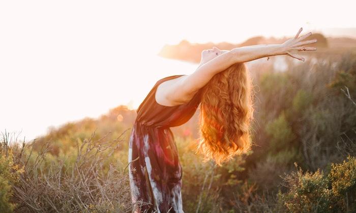 Divinitree Yoga and Art Studio - Santa Barbara Downtown: Five Yoga Classes or One Month of Unlimited Yoga at Divinitree Yoga and Art Studio (Up to 71% Off)
