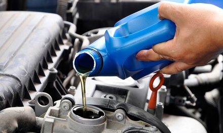 One Conventional Oil Change with Engine-Bay Clean and Vacuum (Up to 68% Off). Three Options Available.