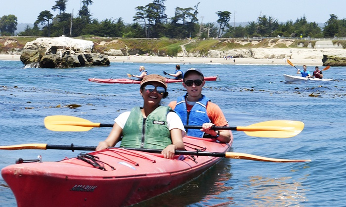 Venture Quest Kayaking - Santa Cruz: Two Three-Hour Single-Kayak Rentals, or Two-Hour Wharf Tour from Venture Quest Kayaking (Up to 50% Off)