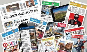 "The Sacramento Bee: 26- or 52-Week Sunday Subscription to the ""Sacramento Bee"" (92% Off)"