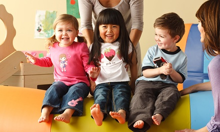 One-Month Membership and Initiation Fee at Gymboree Play & Music (Up to 72% Off). Three Locations Available.