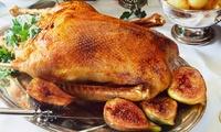Weihnachtliche Gans mit Beilagen und Dessert für 4 Personen im Restaurant Parkblick (27% sparen*)