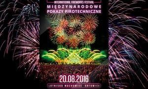 Groupon sp. z o.o.: Od 29,99 zł: bilety na III Międzynarodowe Pokazy Pirotechniczne w Katowicach (do -34%)