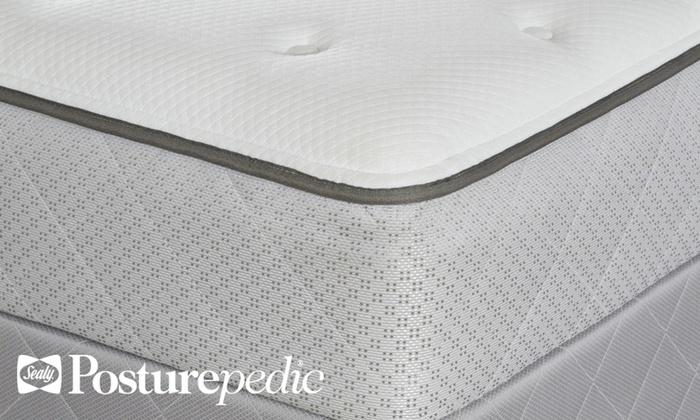Sealy Posturepedic Mattress Set Groupon Goods