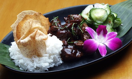 Three-Course Cal-Asian Dinner Show for Two at AsiaSF (Up to 43% Off). Two Options Available.