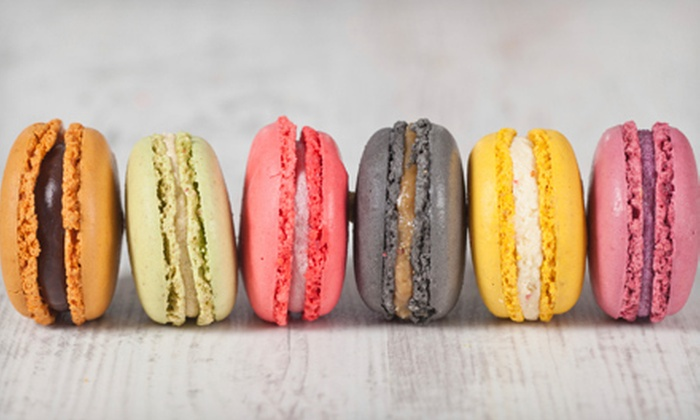 Baby Cakes by Marcy - Kern Place: Half-Dozen, One Dozen, or Two Dozen French Macarons at Baby Cakes by Marcy (Up to 56% Off)